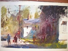 most exciting watercolor paintings | Alvaro Castagnet Painter
