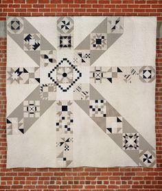 """Moccasin quilt, 108 x 108"""", by Cindy Week. Pattern by AnneMarie Chany of GenXQuilters. Posted at 52 Quilters: Week 12: Quilting for Charity"""