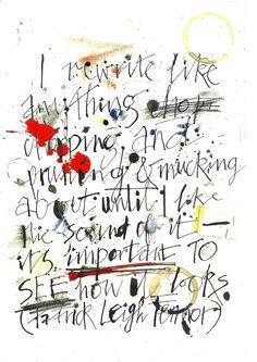 Lettering | Alan Fletcher
