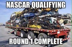 If you havn't seen Nascar qualifying lately you need to watch it! It's as good as the race!