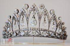 Italian Queen Marie-Jose's Faberge Tiara