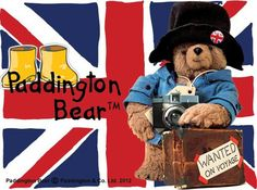 Oso Paddington, Spectacled Bear, Uk Culture, Union Flags, Rule Britannia, Stream Of Consciousness, England And Scotland, National Treasure, Union Jack