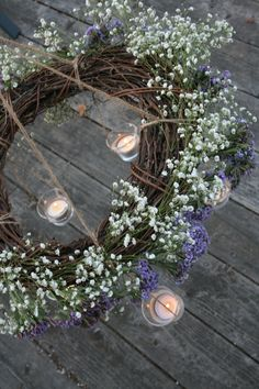 DIY grapevine chandelier made by P&P!