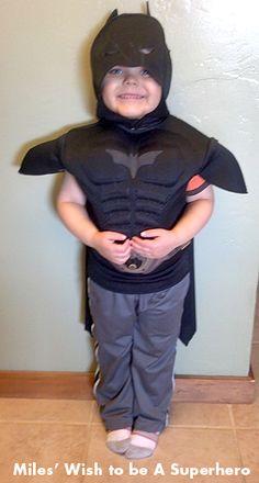 Miles' Wish to be A Superhero