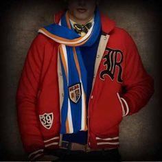 Ralph Lauren Rugby Gothic R Varsity Jacket
