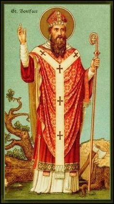 Daily Mass reading for Monday (June 5 2017)  Memorial of Saint Boniface Bishop and Martyr  Lectionary: 353  Reading 1 Tobit 1:1 2; 2:1-9  1 The tale of Tobit son of Tobiel son of Ananiel son of Aduel son of Gabael of the lineage of Asiel and tribe of Naphtali.  2 In the days of Shalmaneser king of Assyria he was exiled from Thisbe which is south of Kedesh-Naphtali in Upper Galilee above Hazor some distance to the west north of Shephat.  1 In the reign of Esarhaddon therefore I returned home…