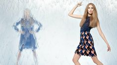 fendi spring 2014 campaign6 Nadja Bender + Joan Smalls Star in Fendi Spring 2014 Ads
