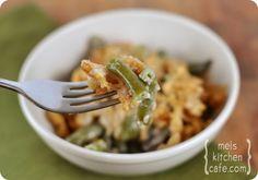 Green Bean Casserole - no cream of mushroom soup