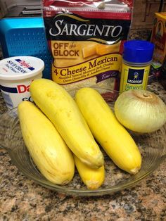 In the summer months, I love fresh yellow squash and onions,  but during holiday time,  I long for a hot and cheesy squash casserole.   Sharing my favorite recipe for it today… so easy to put together and the results are just delicious! ********** Lisa's Favorite Squash Casserole 1 tablespoon vegetable oil  1/ 2 stick … #easysquashcasserole