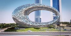 Futuristic Architecture, Dubai, Museum of the Future, year 2017, Future City, UAE, Future Architecture, Sheikh Mohammed bin Rashid