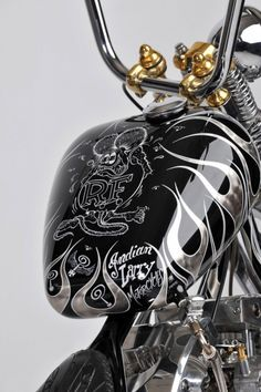 Question Everything - Indian Larry Motorcycles