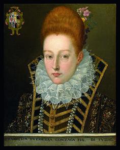 1591 Unknown artist from Mantua - Francesca Guerrieri Gonzaga