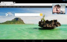 Skype para Android  ofrece  ventana de imagente en tablets