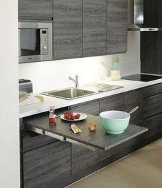 cocinas pequeñas con accesorios