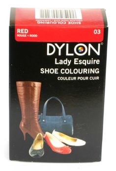 Dylon Lady Esquire Shoe Colouring In Red