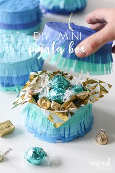 DIY Mini Piñata Box