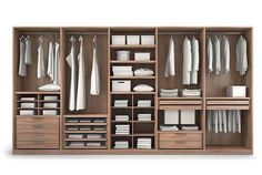 Lots of shelves Wardrobe Design Bedroom, Wardrobe Furniture, Master Bedroom Closet, Bedroom Wardrobe, Wardrobe Closet, Bedroom Decor, Dressing Room Closet, Dressing Room Design, Wardrobe Door Designs