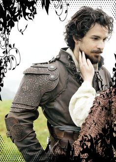 Oh sure, Aramis is a handsome man, but look at that gorgeous shoulder armor.