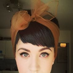 I'm trying to find the perfect length for my bangs... this is pretty close!