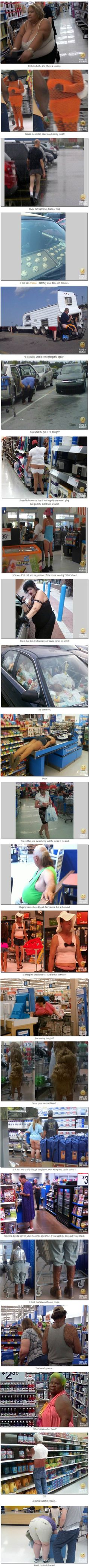The Best (or Worst?) of the People of Walmart - Part 4 | Boo Fckm HooBoo Fckm Hoo http://ibeebz.com