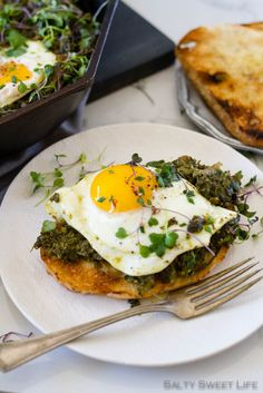 Southern Greens Shakshuka brims with All The Greens. Brunch meets southern cooking meets Middle Eastern food in this inspired creation.