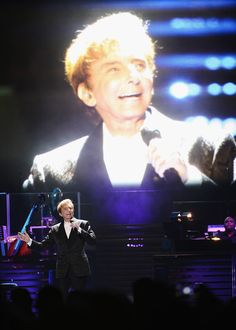 Barry Manilow Performs in Concert in Brooklyn, New York