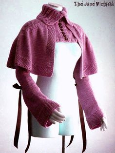 Mantelet Knitting PATTERN, R. E. Linwelin, PDF DOWNLOAD $5.00