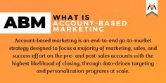 According to Marketo, almost of marketers said ABM provided significant benefits to retain & expand existing client relationships. Pre And Post, To Focus, Effort, Accounting, Relationships, Success, Base, Marketing, How To Plan