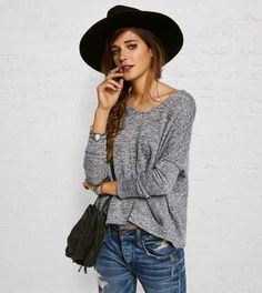 Don't Ask Why Pocket Sweater - Buy One Get One 50% Off