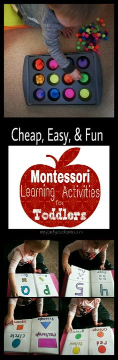 Montessori Learning Activities for Toddlers