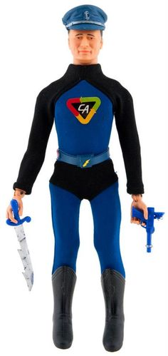 """Captain Action"" Action Figure 