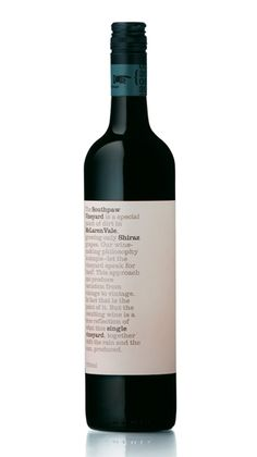 Parallax Design, Southpaw Vineyard wine / vino mxm Más