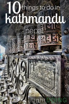 There are lots of things to do in Kathmandu Nepal, including visiting temples, historical sites, arts and crafts, shopping, and cultural experiences.