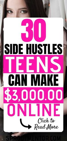 Are you a teen 18 years and below looking for a side hustles which will help you to make money online from home? Visit this post to get 30 best online jobs for teens to make extra cash. # onlinejobsforteensextracash Make money online from home ideas Online Jobs For Teens, Legit Online Jobs, Online Work, Work From Home Jobs, Make Money From Home, Way To Make Money, Make Money Online, Marketing Program, Marketing Jobs