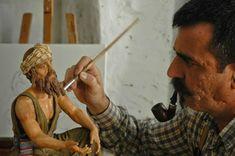 El Arte en el Belén: La expresividad de Manuel Sánchez Raposo Ancient Rome, Christmas Carol, Wood Crafts, Carving, Pretty, Inspiration, Ideas Para, Clay, Colores Paredes