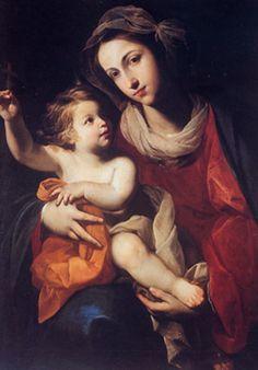 M. Stanzione - Madonna con bambino