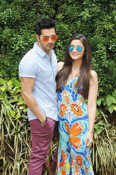 Varun Dhawan and his Humpty Sharma Ki Dulhania co-star Alia Bhatt had a gala time in Hyderabad. #Style #Bollywood #Fashion #Beauty