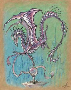 Ametyst dragon by AlviaAlcedo.deviantart.com on @deviantART