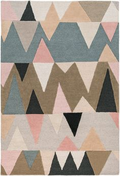 Surya Kennedy Pink Indoor Handcrafted Mid-Century Modern Area Rug (Common: 9 x Actual: W x L) at Lowe's. Fun and upbeat are just a few words that define the flawless rugs of the Kennedy collection by Surya. Hand tufted in 100 percent wool, a series of Modern Area Rugs, Contemporary Area Rugs, Calla Lilies, Textiles, Pink Beige, Blue Grey, Wool Area Rugs, Wool Rugs, Rug Runner