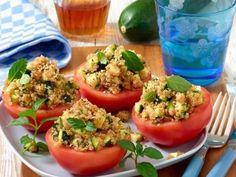 """Quinoa-Tomaten <strong><a href=""""https://www.bildderfrau.de/kochen-backen/rezepte/article206622809/Quinoa-Tomaten.html"""">>> Zum Rezept</a></strong>"""