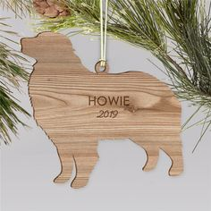 Do you have a special dog in your life that is a part of your family? Don't forget to create an engraved dog breeds wood cut Personalized Pet Ornaments just for them to hang on your holiday tree. Dog Christmas Ornaments, Wood Ornaments, Christmas Dog, Word Art Design, Dog Design, Holiday Tree, Holiday Decor, Wood Dog, Engraved Gifts