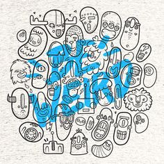 Be Weird T-shirt Design on Behance. Lienke Raben
