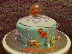 Ponyo Birthday Cake for Kiera by yen4cakes, via Flickr