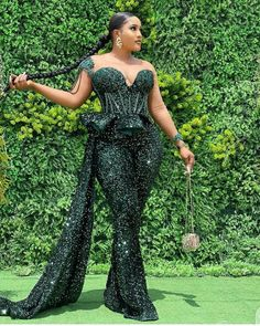 Nigerian Lace Dress, African Lace Dresses, Jumpsuit With Train, Lace Jumpsuit, African Wear, African Fashion, Sexy Outfits, Fashion Outfits, Lace Gown Styles