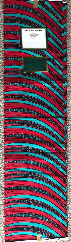 A14   par yard bleu Zip africain tissu africain Wax Print   Ankara pour la  robe bee607bb44b