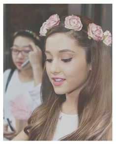 Ariana Grande. she is so pretty