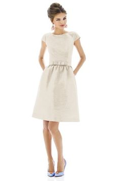 Alfred Sung D568 Bridesmaid Dress | Weddington Way