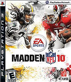 *Reduced* Madden NFL 10 (Sony PlayStation 3) PS3 - Refurbished