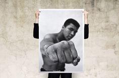 Muhammad Ali Portrait by instacool on Etsy