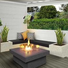 Read What the Experts Think About Outdoor Decor Design - walmartbytes garden design patio Read What The Experts Think About Outdoor Decor Design 68 - walmartbytes Backyard Seating, Backyard Patio Designs, Small Backyard Landscaping, Garden Seating, Landscaping Ideas, Living Room Light Fixtures, Diy Garden Furniture, Furniture Design, Outdoor Furniture